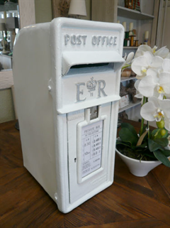 White Wedding Postbox