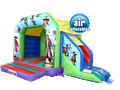 Pirate Castle & Slide Combo Farnham